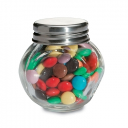 Glass Chocolate Jar