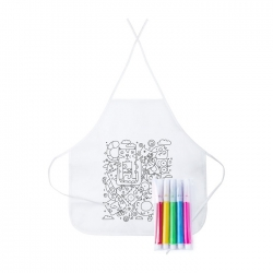 Tizy colouring apron