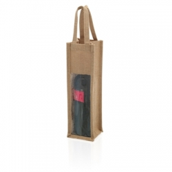 Jute-bag for wine