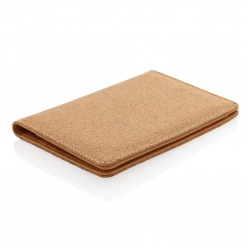 RFID passport cover, cork