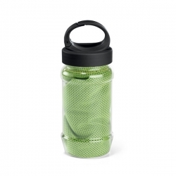 Gym towel with bottle