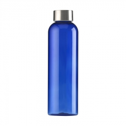 Transparent water bottle 650 ml