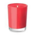 Fragranced candle in coloured glass..jpg